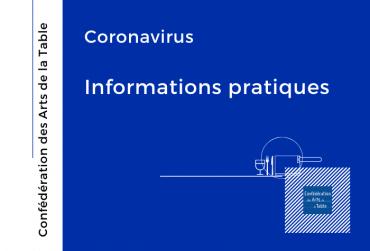 Coronavirus informations pratiques-confederationdesartsdelatable-COVID-19