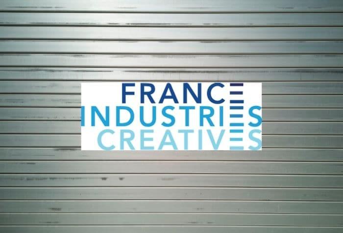 France Industrie Créative-Communiqué du 30 octobre